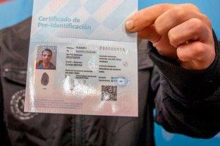RENAPER: se oficializó la creación del Certificado de Pre-Identificación para indocumentados -  -