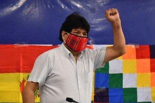 Con destino a Caracas, Evo Morales dejó la Argentina -  -