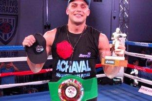 Yamil Peralta defenderá su cetro sudamericano el 30 de octubre