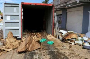 Hallaron siete cadáveres en un contenedor enviado desde Serbia a Paraguay