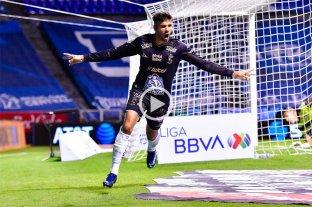 Gigliotti anotó un gol en el triunfo de León que lidera la Liga de México