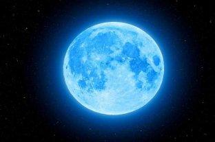 """""""Luna azul"""", el raro fenómeno cósmico que se espera el 31 de octubre"""