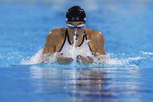 Julia Sebastián bajó el récord argentino y sudamericano en los 200m pecho -  -
