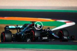 Hamilton se quedó con la pole en Portugal