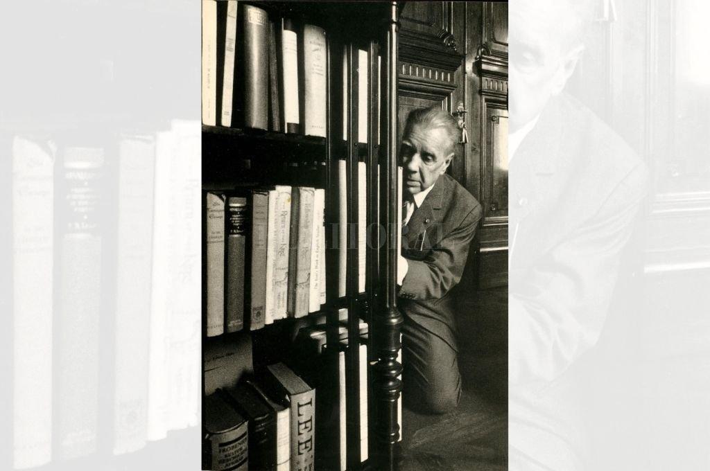 Jorge Luis Borges retratado por Sara Facio. Crédito: Archivo El Litoral