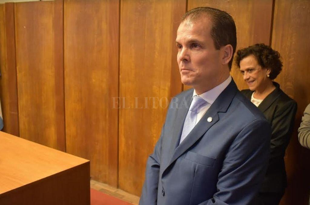 Juez federal de Venado Tuerto, Aurelio Cuello Murúa Crédito: Agencia