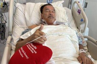 """Arnold Schwarzenegger dijo sentirse """"fantástico"""" tras su cirugía del corazón"""