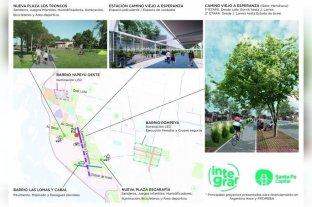 Jatón gestiona fondos de Nación para 10 obras clave de la ciudad