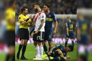 Viene a Santa Fe el árbitro de la final en el Bernabeu - La reprimenda de Cunha para Pratto por un foul a Pablo Pérez en la gran final de la Libertadores que se jugó en el Santiago Bernabeu, hace poco menos de dos años. -