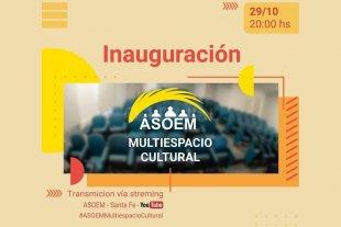 Asoem inaugura su Multiespacio Cultural -  -