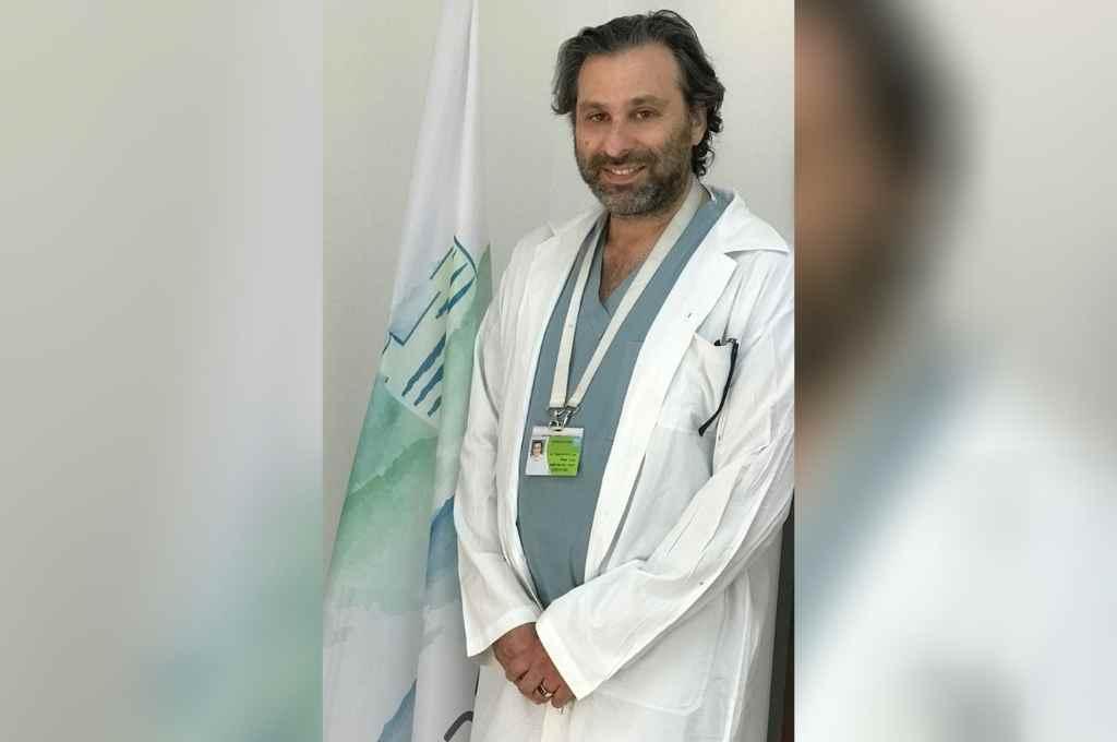 En Safed, Israel, donde dirige la Unidad de Cirugía Oral y Maxilofacial del Ziv Medical Center, hospital universitario de la Facultad de Medicina que atiende a 250 mil habitantes de la Alta Galilea y de Altos del Golán..     Crédito: Archivo