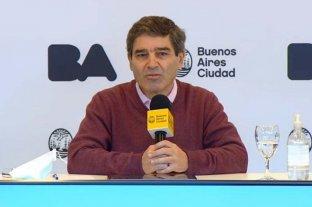 """El ministro de Salud porteño pidió trabajar para """"evitar una segunda ola de coronavirus"""" como en Europa"""