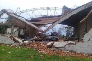 Temporal en Corrientes provocó voladura de techos, caída de postes y dejó amplias zonas sin luz