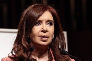 """Cristina Kirchner consideró que la situación económica y la incertidumbre son """"agobiantes"""""""