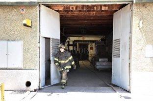 Incendio en una fábrica de guantes