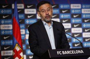"""""""Entiendo el enfado de Messi pero no podíamos dejarlo ir porque es la llave del proyecto"""" dijo Bartomeu"""