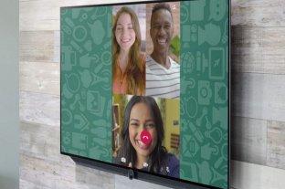 Cómo transmitir las videollamadas de WhatsApp en tu televisor -  -
