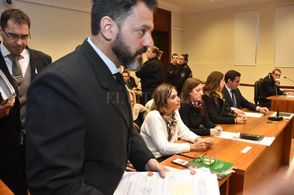 """La sentencia fue dictada por el juez Rodolfo Mingarini (foto), luego de que la mamá de la víctima pidiera en la audiencia """"que esto se termine de una vez"""". Crédito: Flavio Raina - Archivo"""
