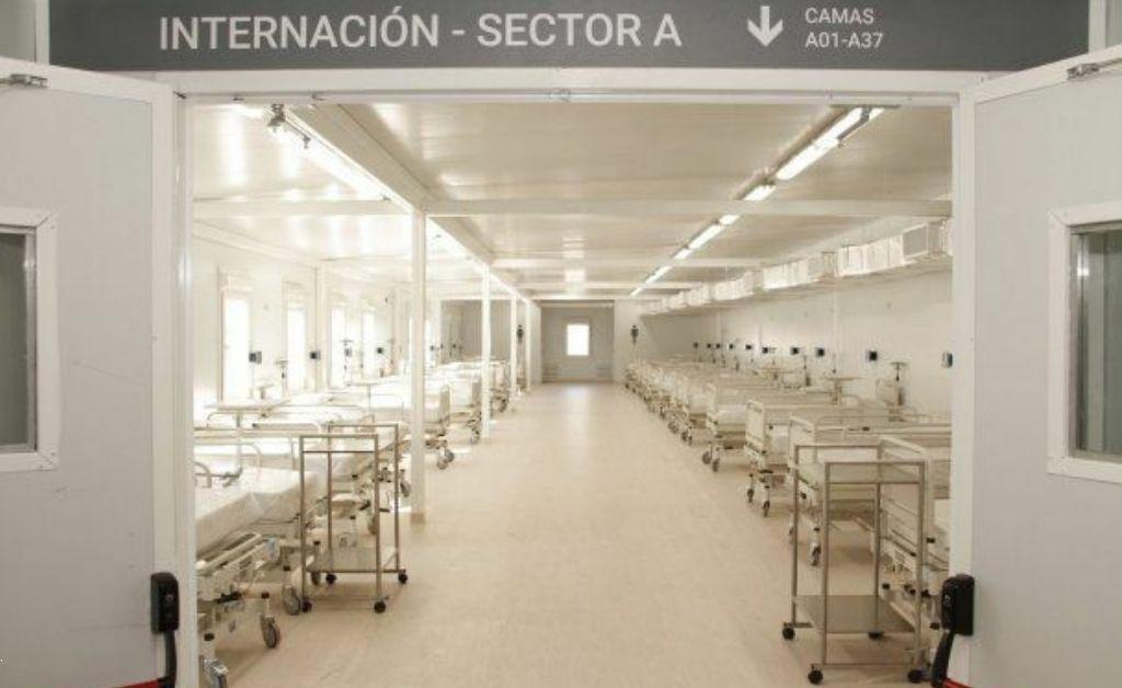 El Gobierno tiene previsto instalar 18 hospitales modulares en todo el país Crédito: Gentileza