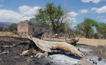 En San Luis harán obras para proteger zonas arrasadas por incendios forestales