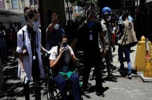 Río de Janeiro: un incendio en un hospital obligó a evacuar a 200 pacientes