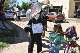 Protesta de vecinos de Rincón por las quemas en las islas