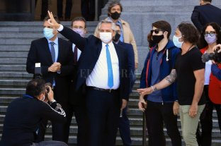 El presidente encabezó el acto de homenaje a Néstor Kirchner