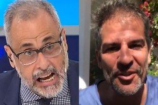 """Jorge Rial le dijo """"mantenido"""" y """"cobarde"""" a Patricio Giménez"""