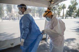 Rosario: cautela pese a la disminución de casos detectados de covid-19 -  -