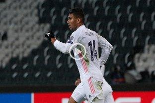 Real Madrid rescató un empate sobre la hora ante Borussia Moenchengladbach