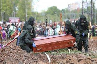 Rusia registró por segundo día consecutivo un récord de fallecidos por coronavirus