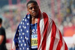 Coleman, campeón mundial de 100 metros, sancionado dos años por saltear controles antidopaje