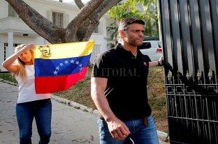 """Venezuela: el opositor Leopoldo López dijo que Nicolás Maduro """"es un asesino"""""""