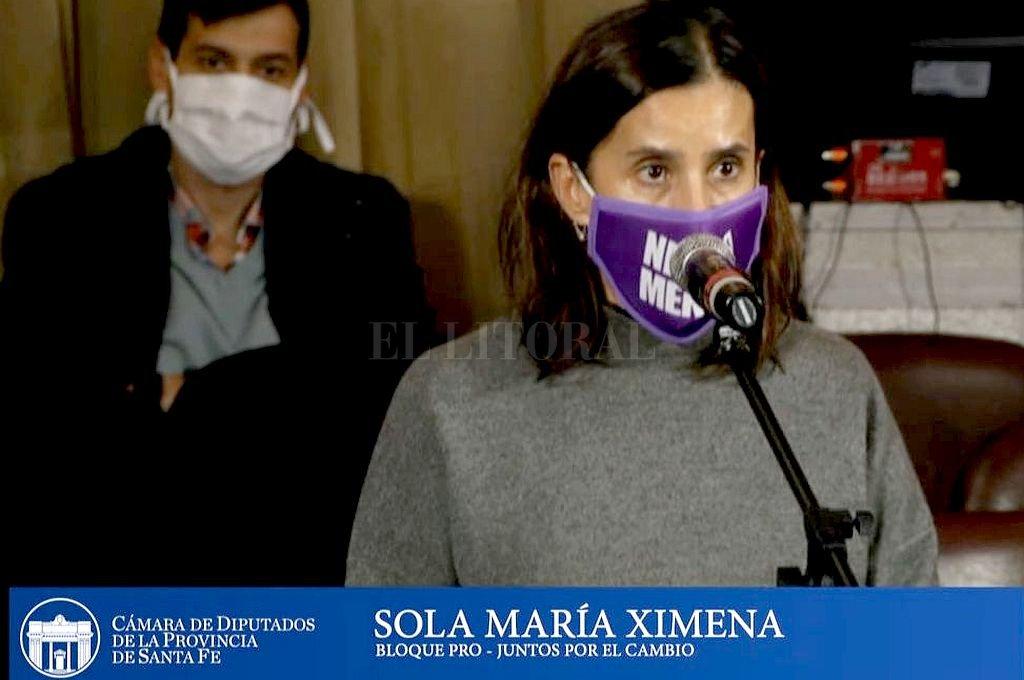 María Ximena Sola. Crédito: Archivo El Litoral