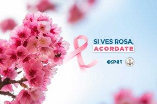 Obra Social OSPAT y LALCEC Santa Fe invitan a una charla de prevención del Cáncer de mama -  -