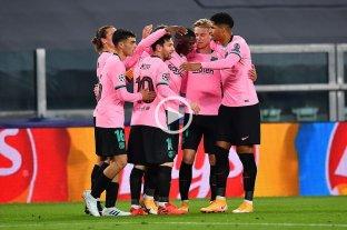 Con un gol de Messi, Barcelona derrotó a Juventus en Italia -  -