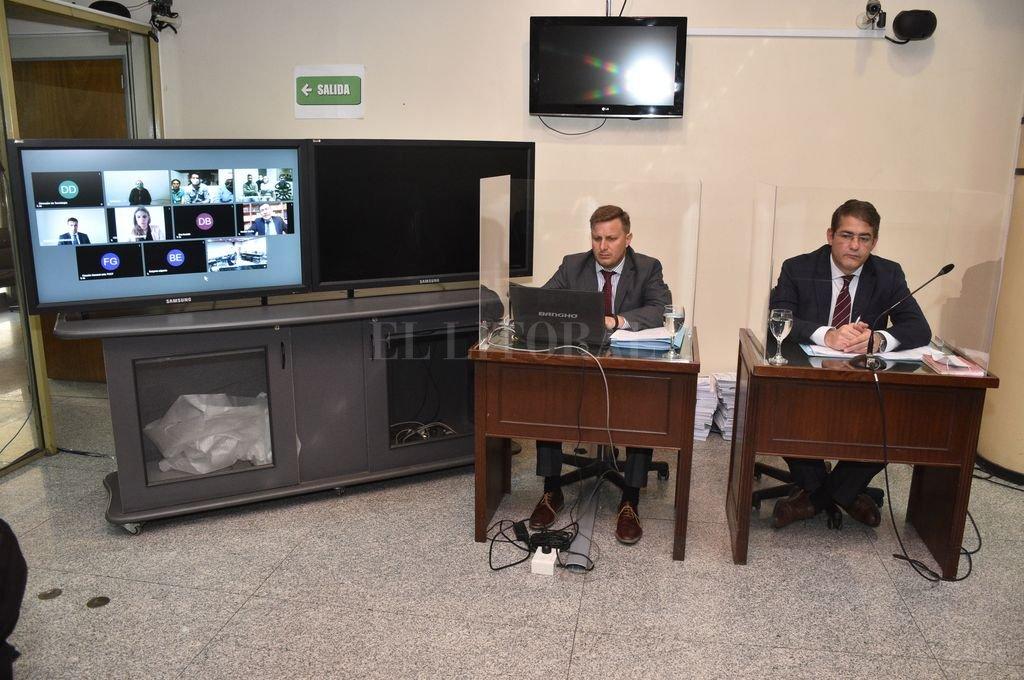 El debate oral comenzó el 8 de octubre y se realiza de manera presencial/virtual, en los estrados federales locales. Crédito: Flavio Raina