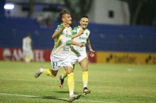 Valioso triunfo de Defensa y Justicia ante Sportivo Luqueño en Paraguay