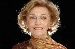 La reconocida actriz Hilda Bernard cumple 100 años