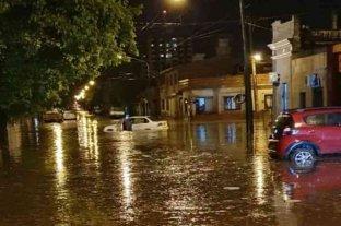 Fuerte temporal en Salta con granizo, inundaciones y vientos fuertes