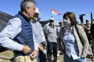 """Bullrich viajó a Entre Ríos para respaldar a los Etchevehere y """"defender la propiedad privada"""""""