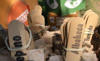Se recolectaron 1.350 kilos de residuos reciclables en sólo tres días