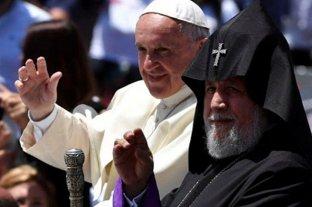 El papa Francisco declaró mártires a dos víctimas del genocidio armenio