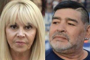 Luis Ventura difundió una antigua conversación privada entre Claudia Villafañe y Diego Maradona -