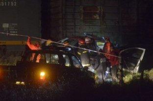 Bahía Blanca: chocaron un patrullero y un tren y falleció un policía