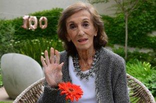 La reconocida actriz Hilda Bernard cumplió 100 años