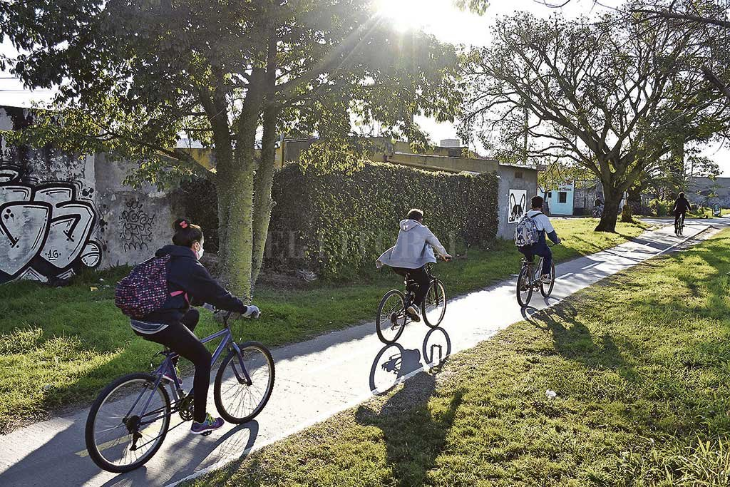 La pandemia generó un sinfín de nuevos hábitos para todas las personas, entre ellos, el uso de la bicicleta como medio de transporte