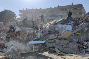 Un terremoto de magnitud 7 dejó daños severos en localidades de Turquía y Grecia