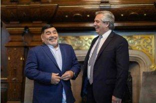 """Alberto Fernández sobre Maradona: """"Los argentinos le debemos muchos momentos de felicidad"""""""
