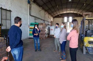 La diputada Armas Belavi de visita en instituciones de Cañada Rosquín